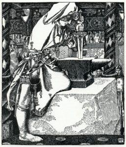 Arthur-Pyle_How_Arthur_drew_forth_ye_sword